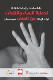 دليل السياسات والاجراءات الشاملة لحماية النساء والفتيات ذوات الإعاقة من العنف