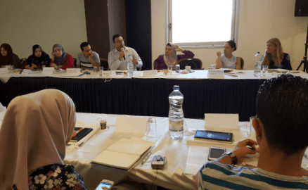 """Because I am a Man"": QADER Participates in UN Women Gender Equality Storytelling Training"