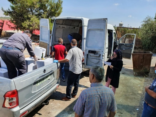 QADER Volunteers Continue to Provide People with Disabilities and their Families Necessary Materials to Counter the Spread of COVID-19