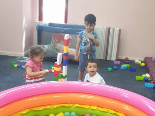 QADER Opens A Temporary Nursery for Employees' Children